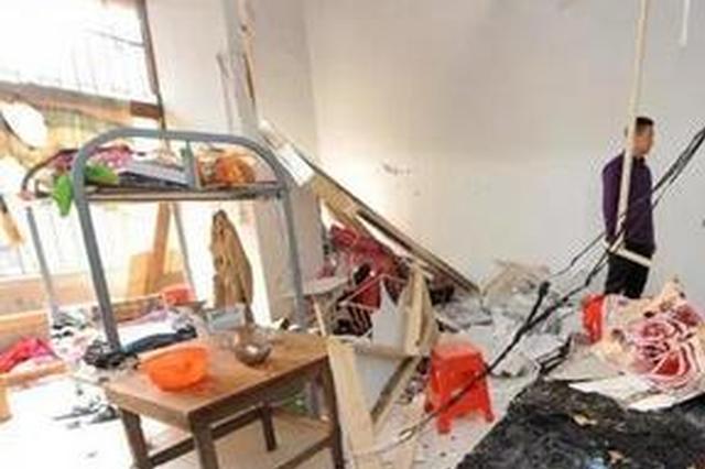 福州一民房三楼突然发生爆燃 女租客瞬间被毁容