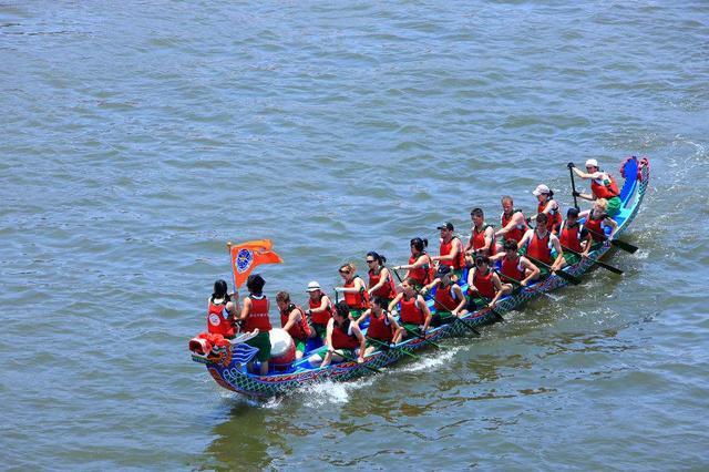 中华龙舟大赛首站昨日结束 福州三队表现强势