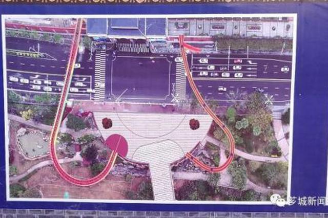 漳州飘带天桥东侧将再建一座人行天桥 与跨江滨路天桥对称