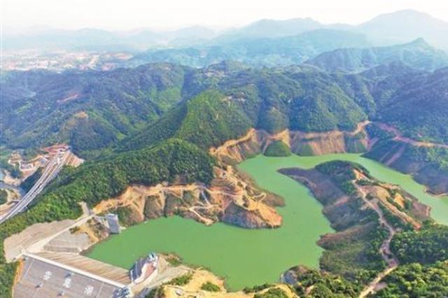 """泉州第一高坝""""蓄水待发"""" 6月将实现并网发电"""