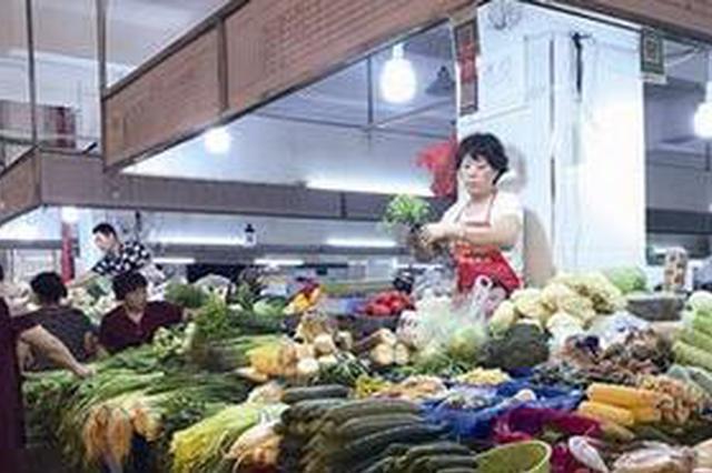 漳州今年一季度CPI上涨1.3% 猪肉价快跌鲜菜价大涨