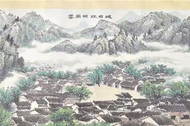 """泉州81岁老人造138米纸织画 织就38项""""世遗""""图"""