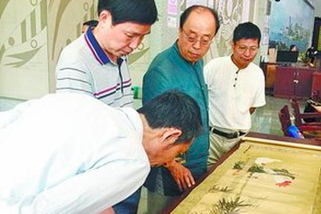 """厦博""""国际博物馆日""""鉴宝 曾流往日本国画又回祖国"""