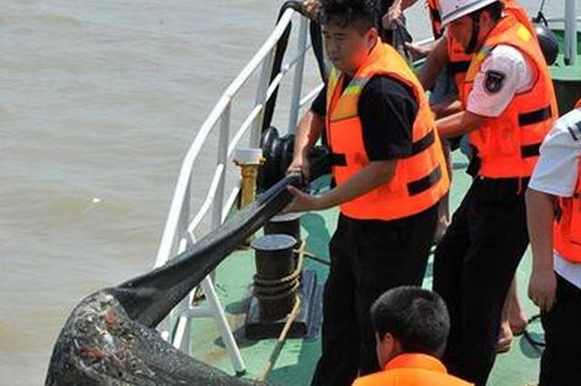 闽江禁渔期严查违规捕鱼 查获2艘捕鱼船4张渔网