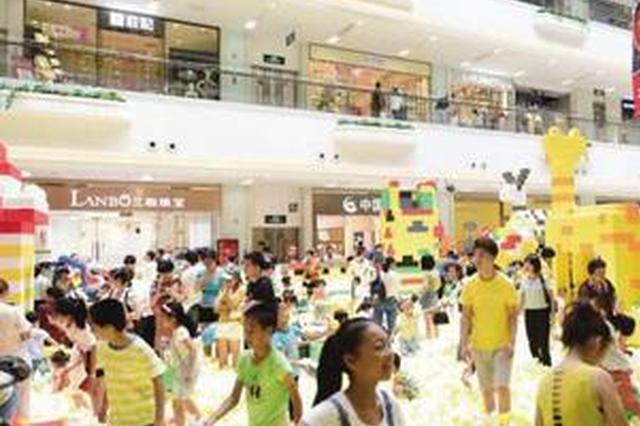 """""""六一""""儿童节将至 厦门各商场化身萌娃乐园"""