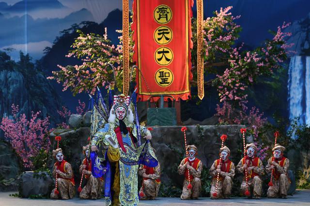 京剧电影《大闹天宫》在漳州开发区拍摄,有望年底上映