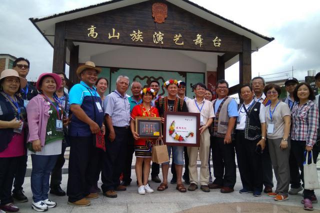 海峡两岸民族乡论坛代表考察华安高山族特色村寨