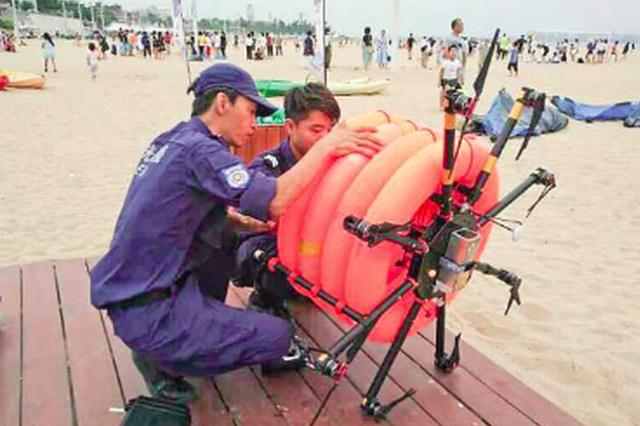 厦门曙光救援队将启动新设备 八轴无人机会说话会救援