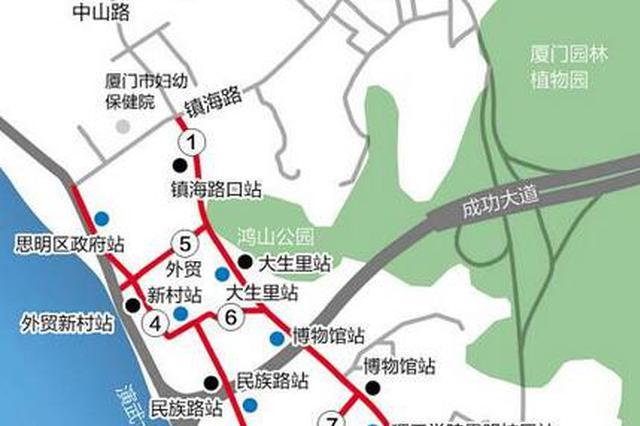 因市政设施提升改造工程需要 厦门7路段今起限行