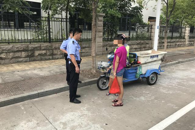 漳州一妈妈大意将3岁儿子弄丢,幸亏民警帮忙