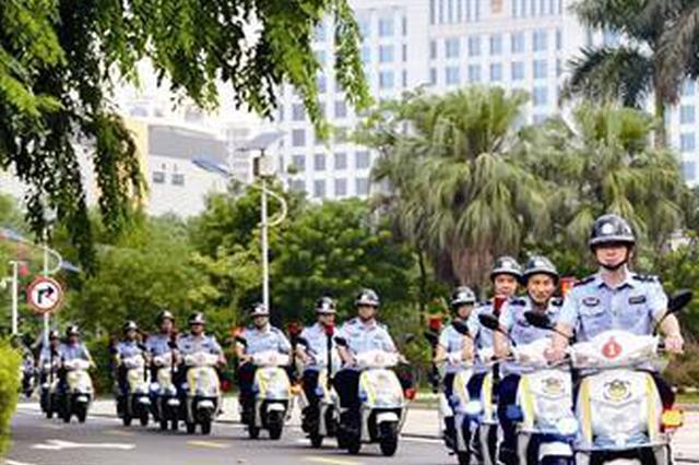 漳州社区民警巡逻工具大变样 人手一辆电动车