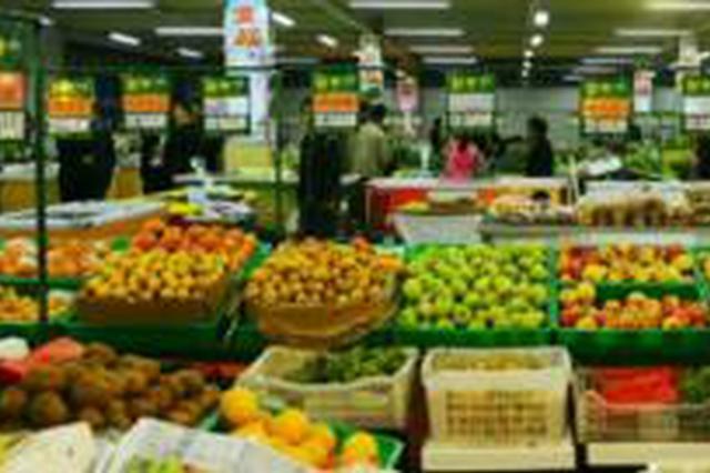 福州物价部门监测显示 上月近七成主副食品涨价