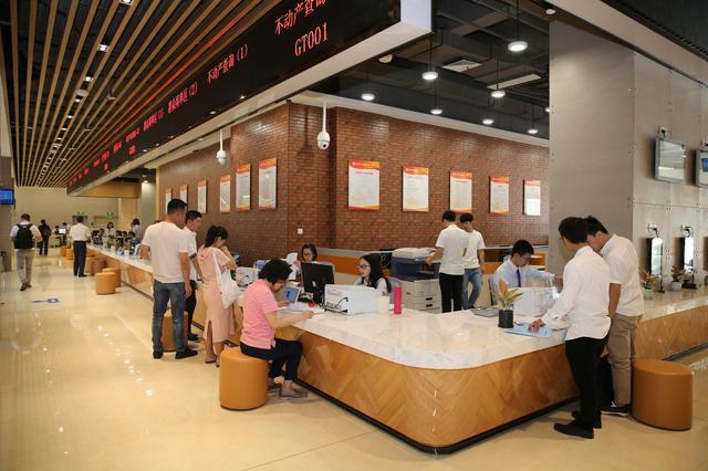 漳州开发区行政服务中心新办事大厅正式投用