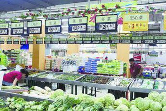 """厦门售价1至3元""""亲民蔬菜""""种类多 香菜降到12元"""