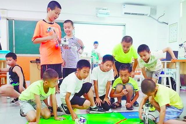 教育政策支持家长跟风 机器人培训机构在厦数量猛增