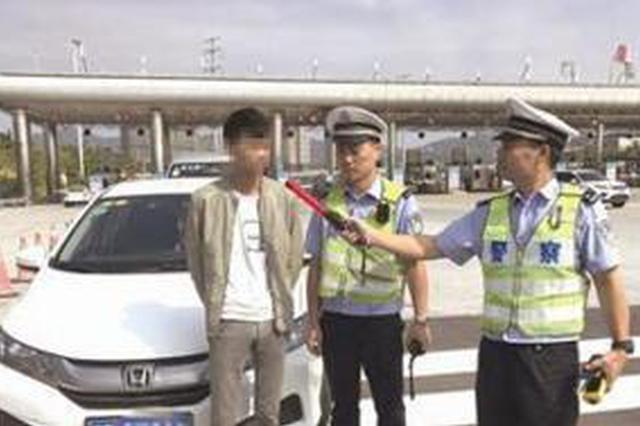 厦门:男子前夜喝酒侥幸驾车上路被查 12分全扣光