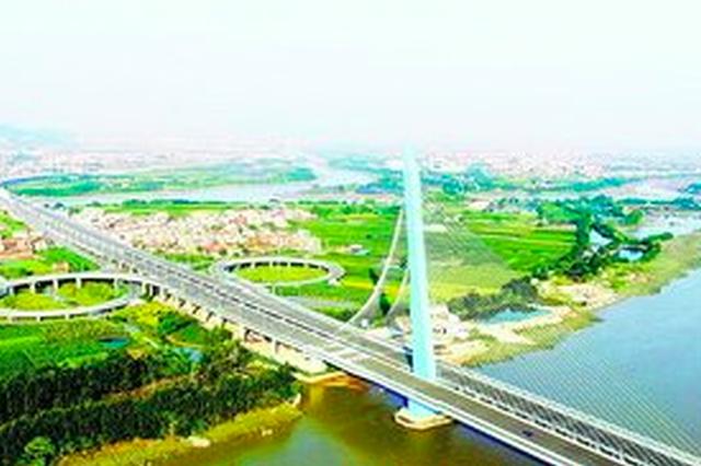 廈漳同城大道主線試通車 島內半小時直達漳州動車站