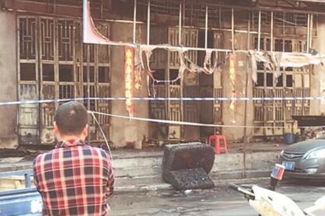 晋江一小超市起火 老板本已逃出再入火海遇难