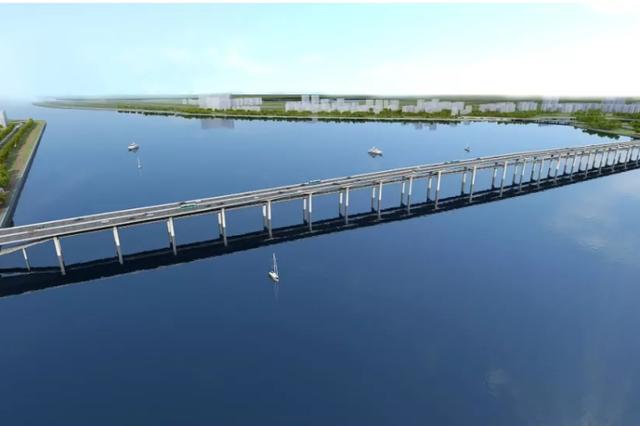 翔安将建福建首座双层跨海大桥 溪东大桥设计成亮点