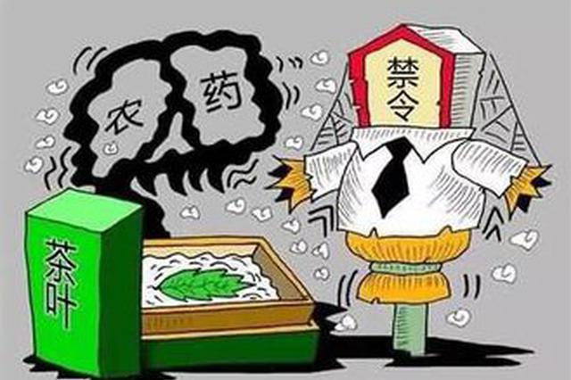 漳浦:茶叶店茶叶农残检测不达标 没收五十元罚五万元