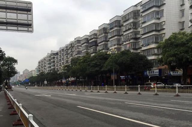 """福州长乐城区整治多个""""堵点"""" 三个路段已完成改造"""