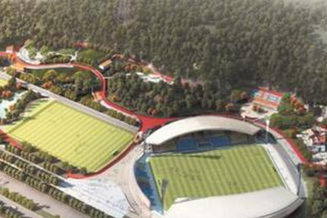 晋江首个足球公园主场馆轮廓初现 7月底或迎首场比赛