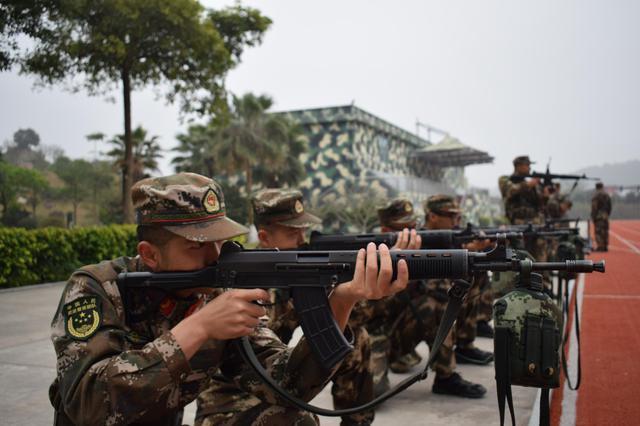 武警漳州支队开展勤训轮换大练兵活动