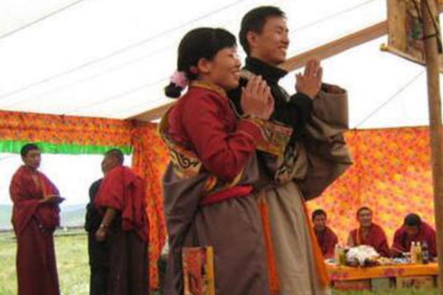 泉州夫妻与藏区的不解之缘 藏民为他们举办婚礼