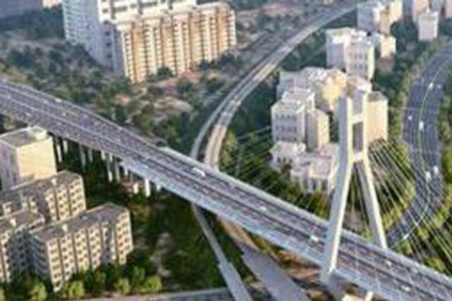 龙岩大桥明年底将全线通车 城南和城北连成一片