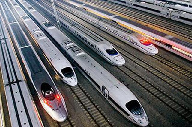 新旅客列车运行图:增开高峰线福州-厦门D9601/2次