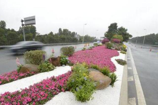 福州市提升机场高速公路沿线景观 主要工程全部完工