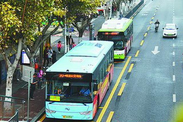 厦门公交专用道投用两个半月 高峰期营运效率提7.75%