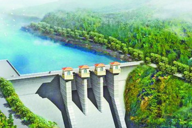 枋洋水利枢纽工程上存大坝全面封顶 为厦门第二水源
