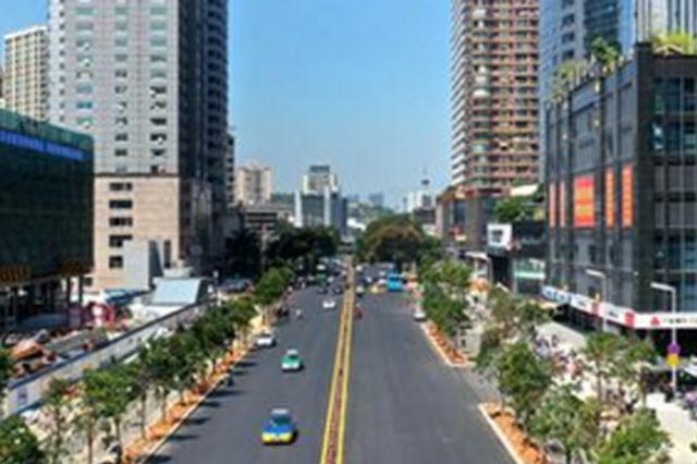 榕地铁2号线城区沿线道路亮丽登场 修复提升基本完成