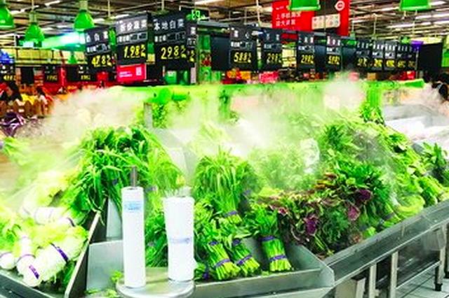 近日连续降雨 厦门部分水叶菜品种价格小幅上涨