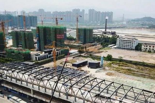 福州地铁6号线又有新进展 营前站屋盖钢结构封顶