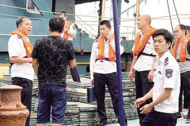 厦门渔监查获3艘违反伏休规定渔船 在漳州海域活动