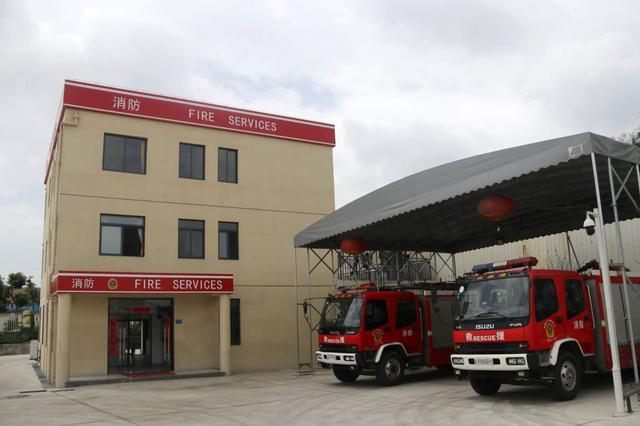 湖里两个小型消防站 半年灭火救援99起