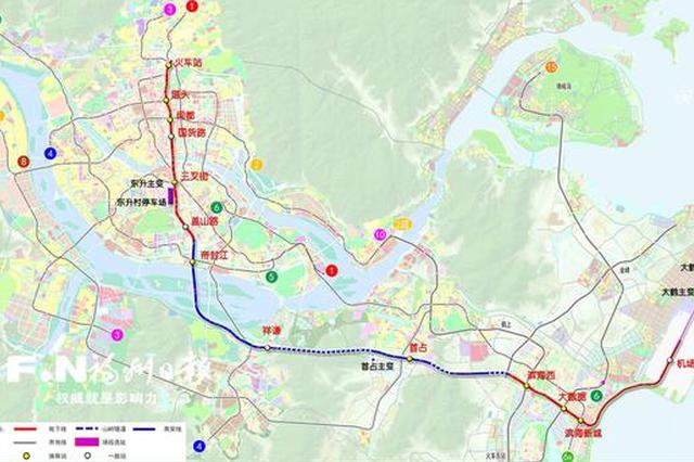 榕滨海快线建设规划调整获批 从火车站至机场设13站