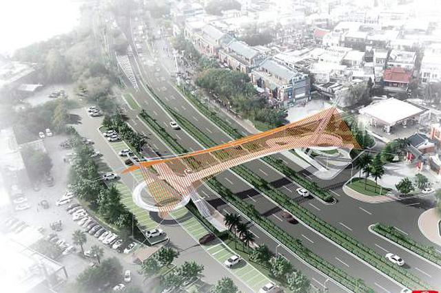 厦门环岛路将新增两座天桥 位于胡里山及文创展示中心