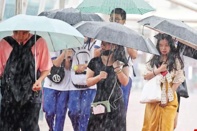 厦门今日有中雨到大雨 最高气温27℃-29℃