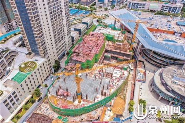 泉州石狮 故宫海上丝绸之路馆主体工程预计本月底封顶
