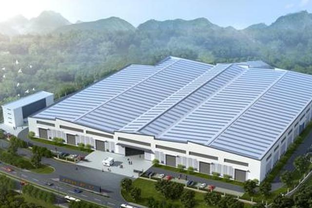 福州市第二个装配式钢结构产业基地封顶