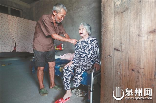 泉州永春68岁大嫂照顾患病小叔 28年不离不弃