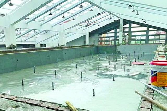 厦门一健身房承诺泳池五月开放 拖到八月还没铺砖