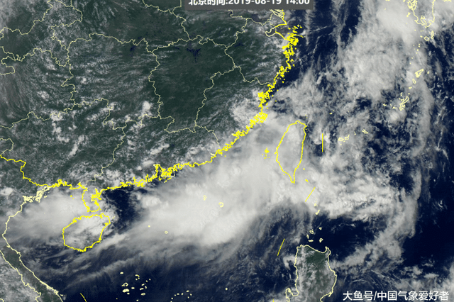 我国台湾近海突现台风胚胎 需警惕其倒插门登陆