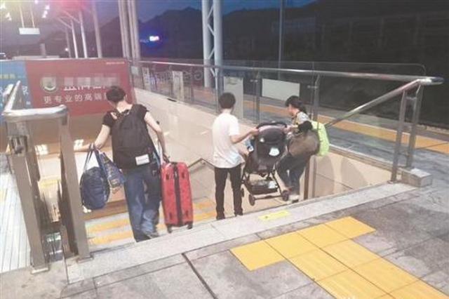 """泉州火车站无障碍电梯何时才能""""无障碍"""""""