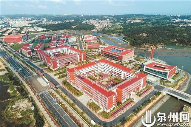 福州大学泉州晋江科教园今秋将迎来首批成建制本科生