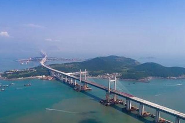 世界最长跨海公铁两用大桥9月底贯通 明年全面通车