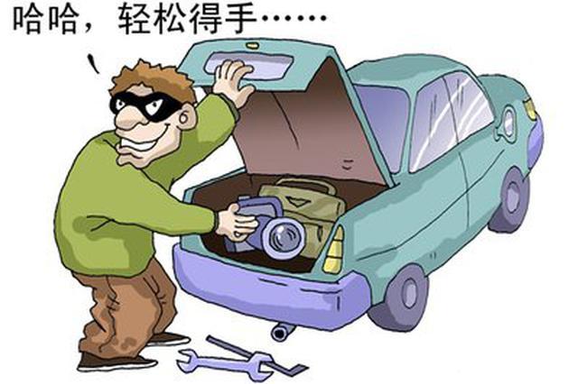 凌晨街边盗窃车内财物 泉州一男子作案30多起被刑拘